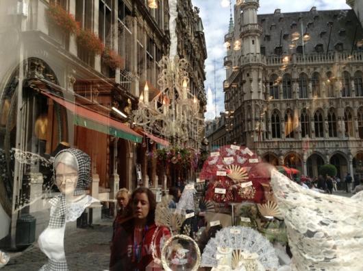Кружевной бутик на Гранд Пляс, Брюссель