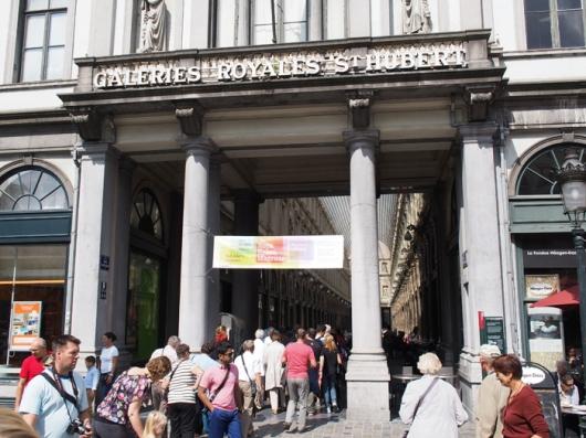 Королевские галереи Св. Юбера, Брюссель