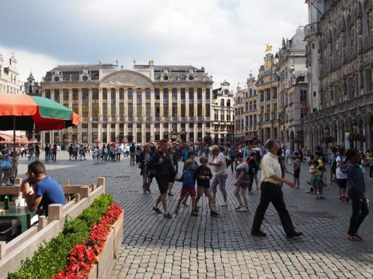 Гранд Пляс – в центре Дом герцогов Брабантских, Брюссель