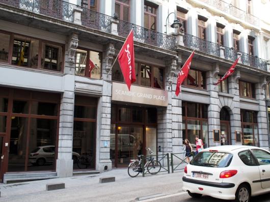Отель Sсandic Grand Place, Брюссель