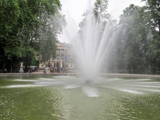 Фонтан в Брюссельском парке
