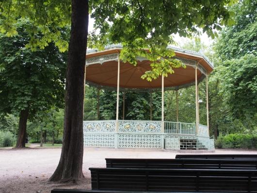 Беседка в Брюссельском парке