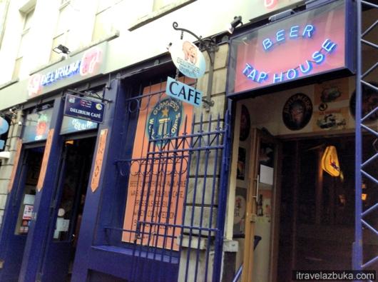 Пивной бар «Delirium Café», Брюссель