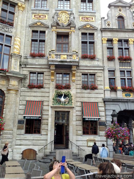 «Дом Лебедя» на Гранд Пляс, Брюссель