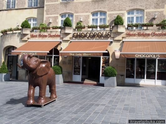 Фирменный шоколадный магазин «Chocopolis», Брюссель